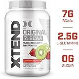 Scivation Xtend BCAA Powder, Strawberry Kiwi, 90 Servings