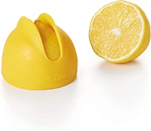 OXO Good Grips Silicone Squeeze & Store Lemon Saver, 1, Yellow