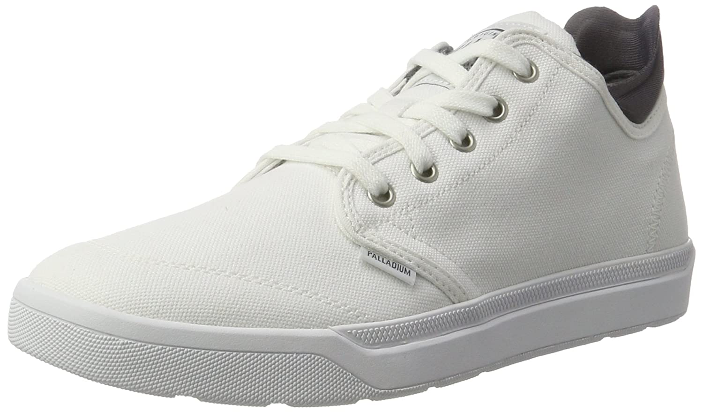 Palladium Herren Desrue Low Sneaker  425 EU|Wei? (White/Castlerock)