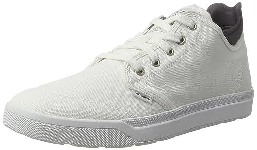 Palladium Desrue Mid, Zapatillas para Hombre, Blanco (White/Castlerock), 44 EU