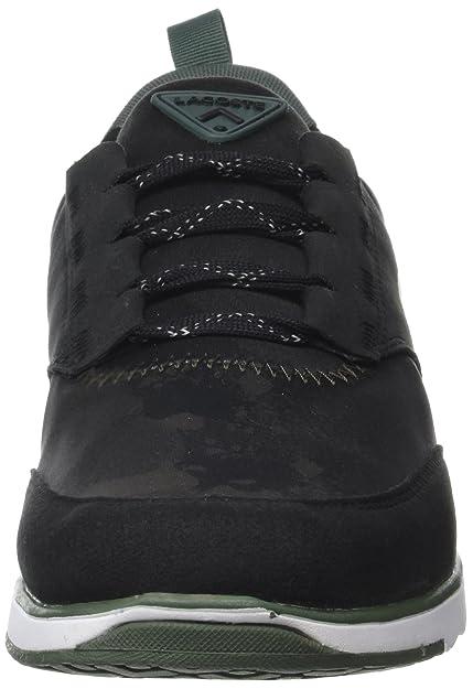 Lacoste Sport L.Ight 317 3, Entrenadores Bajos para Hombre, Negro  (Blk grn), 47 EU  Amazon.es  Zapatos y complementos 886d582f52