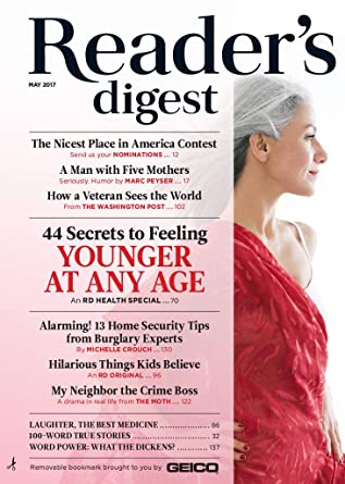 reader's digest large print: .com: magazines