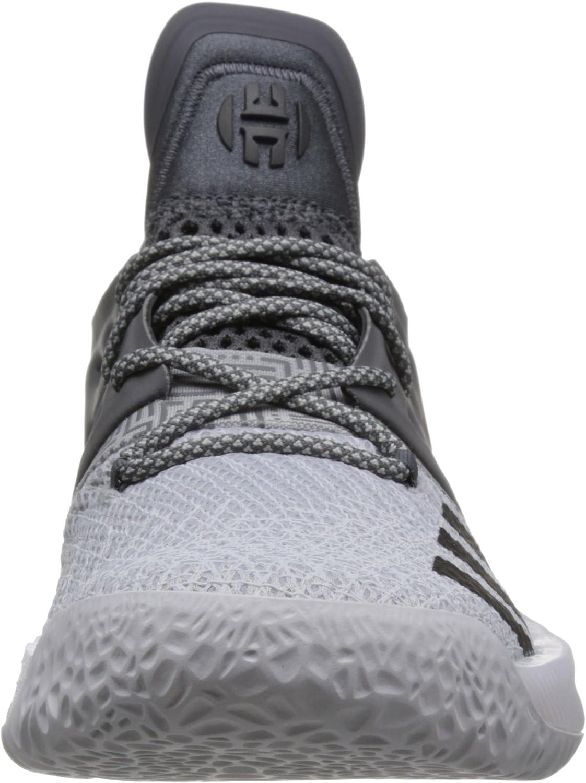 adidas Harden Vol. 2, Chaussures de Basketball Homme Gris Grefiv Trgrme Grefou