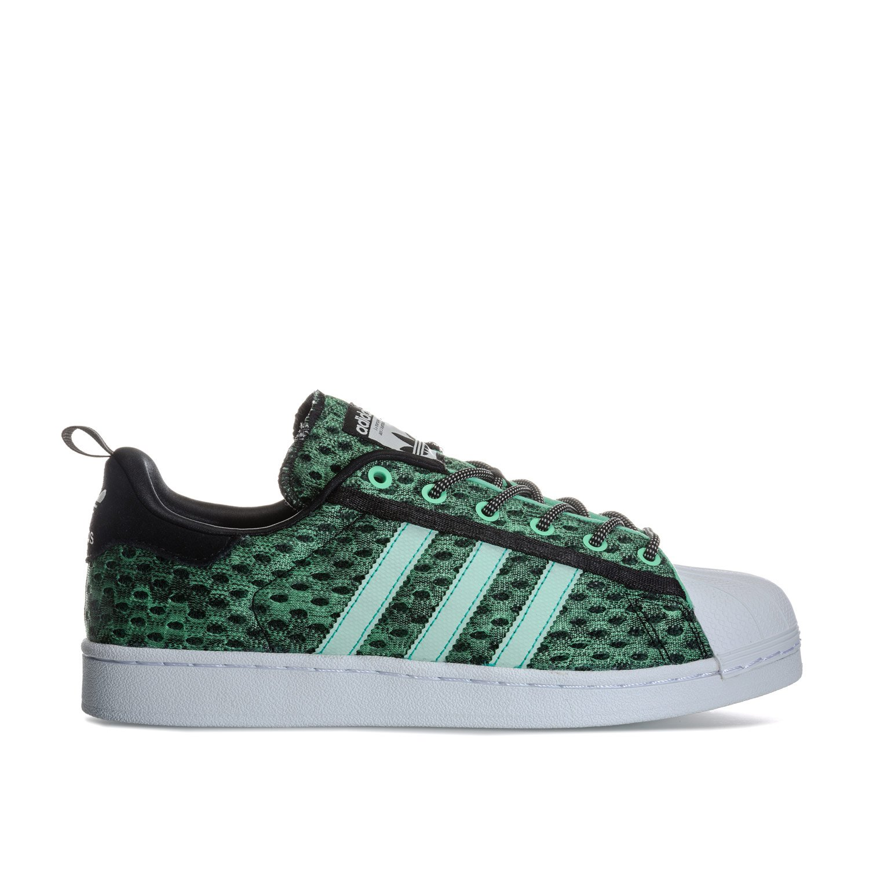 adidas Originals Men's Superstar Trainers Core US14 Green