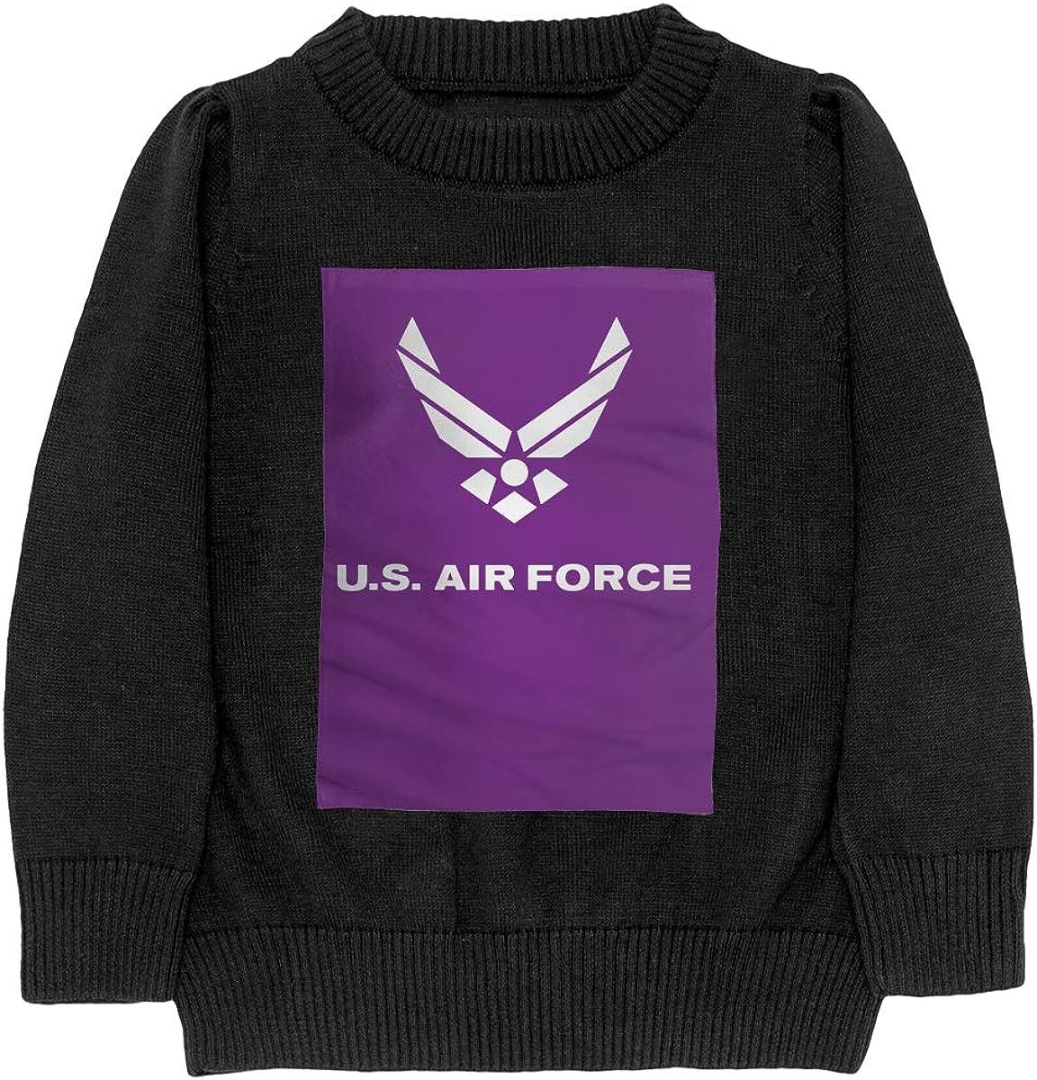 WWTBBJ-B Air Force Symbol Fashion Adolescent Boys /& Girls Unisex Sweater Keep Warm
