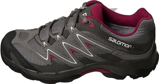 Salomon Campside Low GTX II W Schuhe Outdoorschuhe Trekking Wandern grau GoreTex qg5Oa