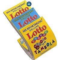 Fun Villa Deluxe Lotto Housie Tambola Tickets (Multicolour) - Set of 1800