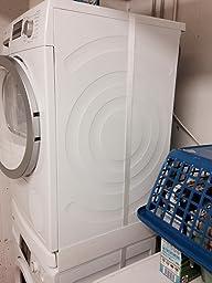 wpro sks100 waschmaschinenzubeh r zwischenbaurahmen mit. Black Bedroom Furniture Sets. Home Design Ideas
