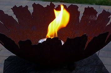 Feuerschale Feuer Feuerstelle Metall Rostoptik Edelrost Rost Garten