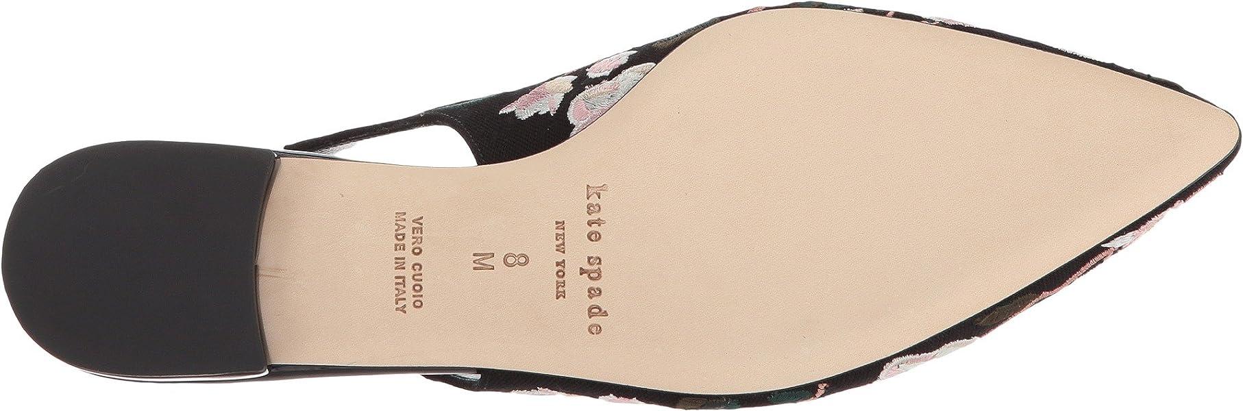 a42fadb63d0d Amazon.com  Kate Spade New York Women s Barnie Black Linen 6 M US M ...