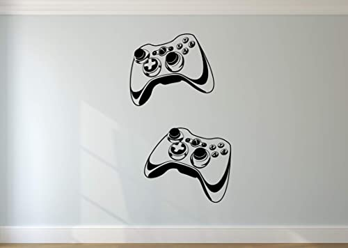 Video Game Joysticks Gaming Room 3D Vinyl Decal Sticker Kids Bedroom Wall Decor