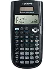 Texas Instruments 36PRO/TBL/1L1/A TI-36X Pro Scientific Calculator