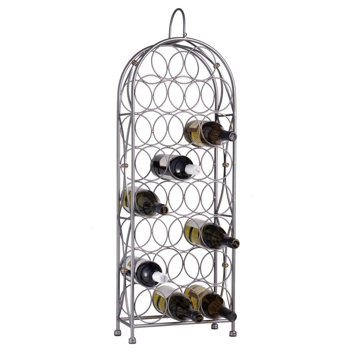 Oenophilia Bordeaux Chateau Wine Rack- 23 Bottle by Oenophilia