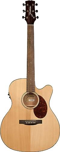 Jasmine JO37CE-NAT J-Series Acoustic-Electric Guitar