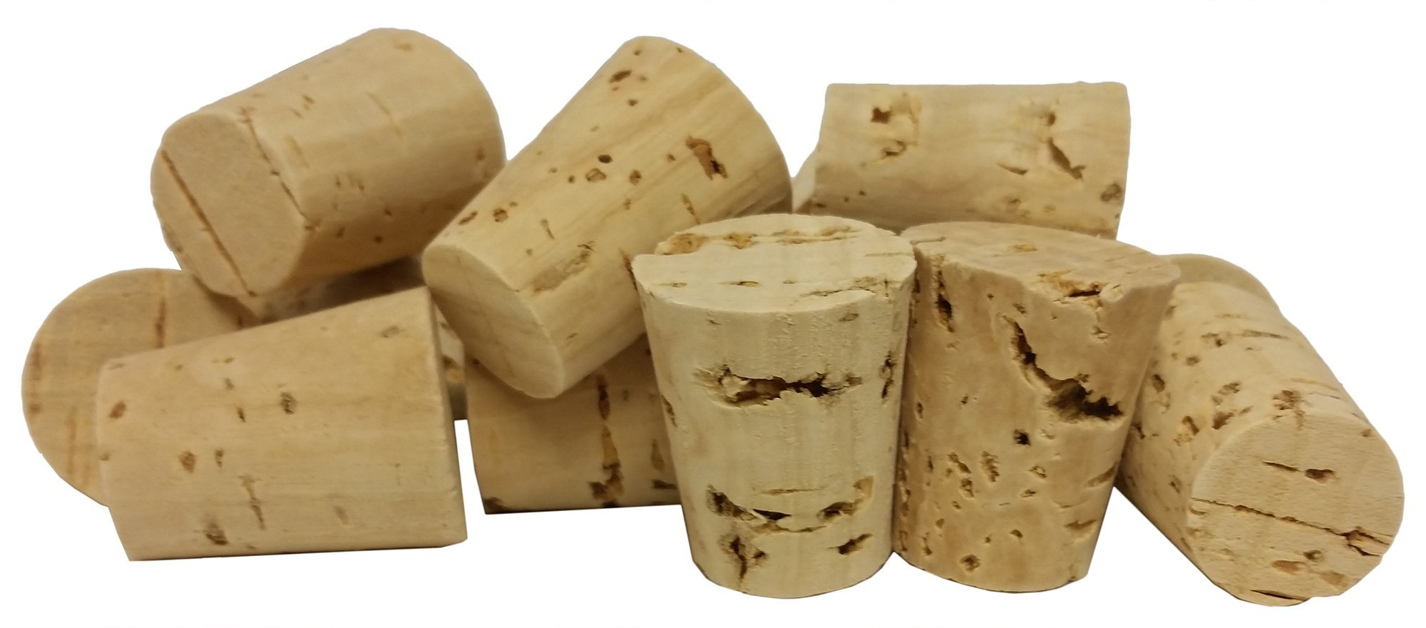GSC International CS-9-100 Cork Stopper, Size 9 (Pack of 100) by GSC International