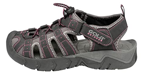 Gola Womens Trekking Sandals Outdoor Ladies Closed Toe Hiking Sports Shoes:  Amazon: Shoes & Bags