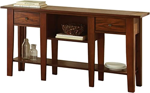 Steve Silver Company DeSoto Sofa Table, 58 x 16 x 30