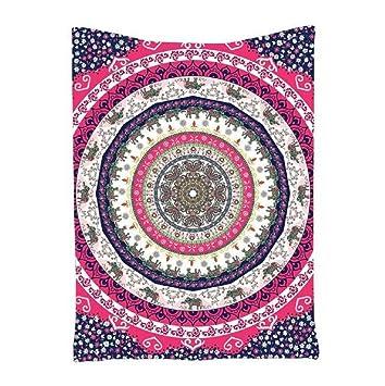 Sannysis Toallas de playa, Indian Mandala Beach Towel, kimono Túnica, 145cm X 180cm (C): Amazon.es: Hogar