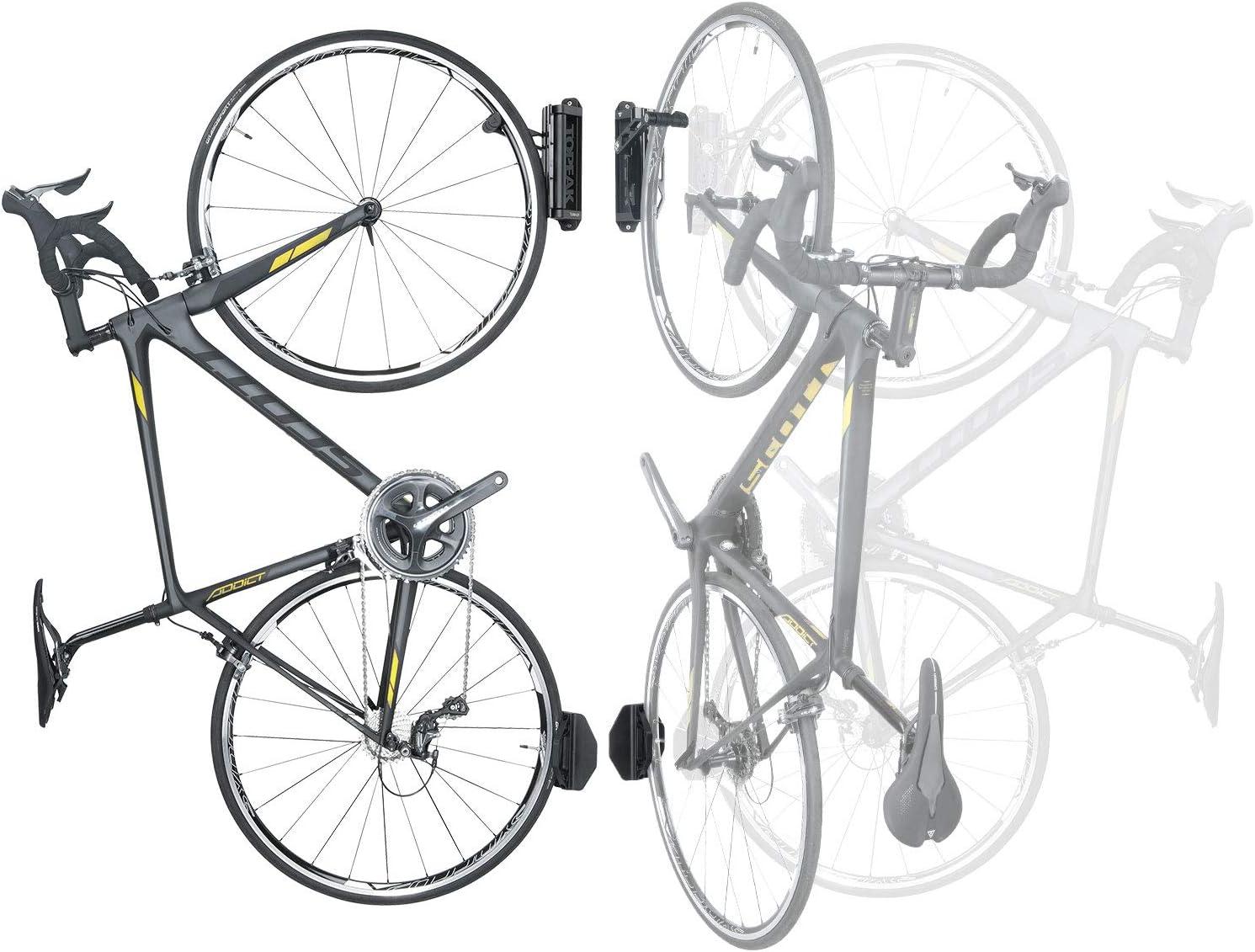 "Topeak Swing-Up Bike Holder Black, 27.5 x 16 x 7.7 cm / 10.8"" x 6.3"" x 3"""