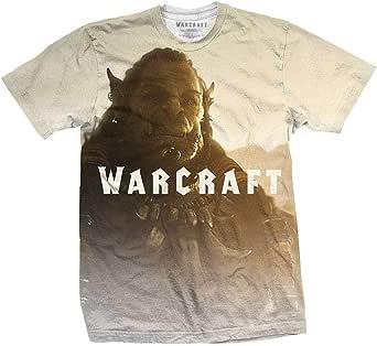 Rock Off Warcraft Durotan Fade Sublimation Camiseta Hombre
