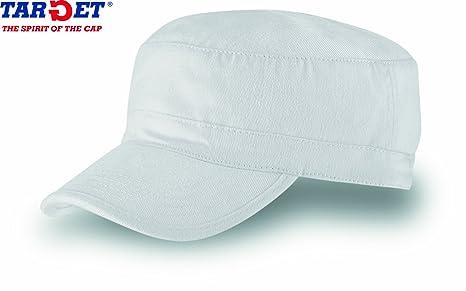 TANK BIANCO CHAPEAUX CAPS BERRETTO MILITARE VASCO CAP CHAPEAUX 100% COTONE  UNISEX 61fd02eeec66
