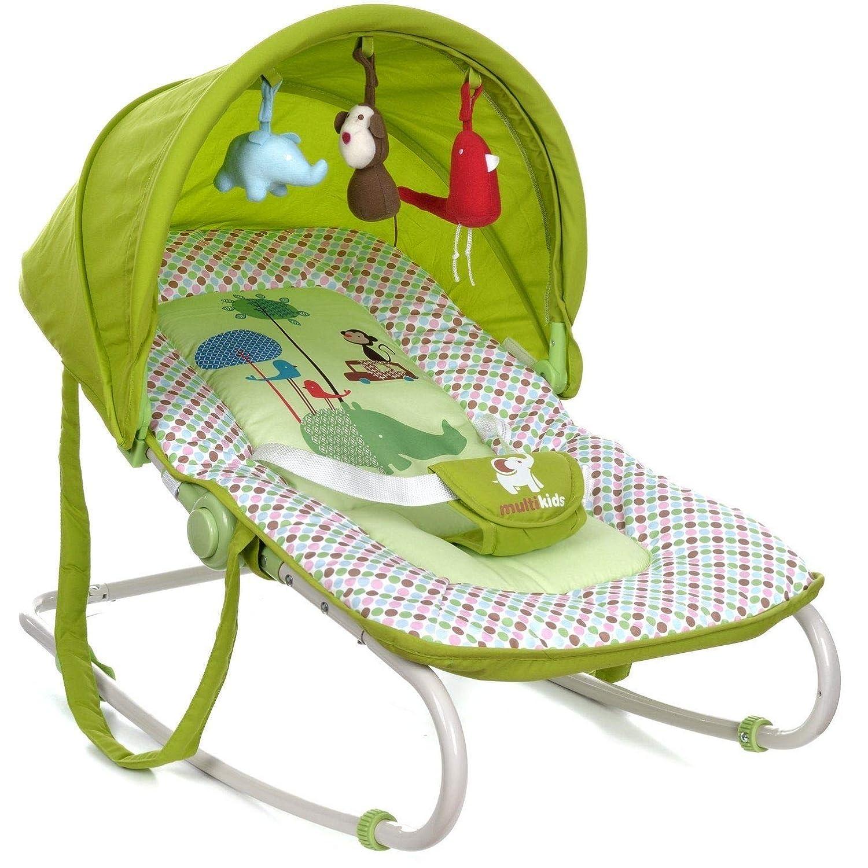 Babyschaukel-Schaukelwippe-Babywippe-Babywiege-mit-Vibrationsfunktion Siluk