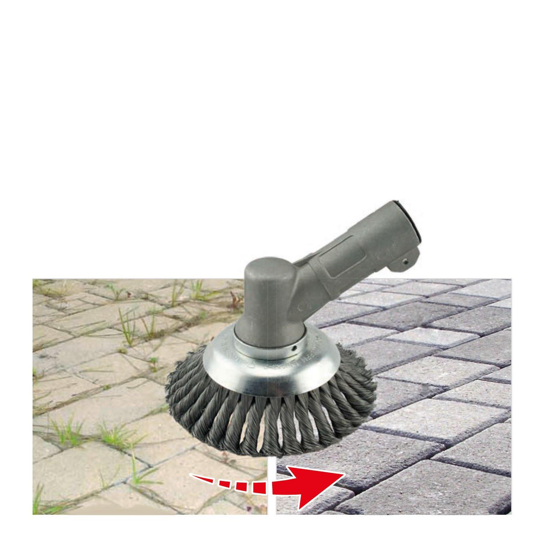 Mauvaises Herbes Brosse Pot Brosse Diam/ètre 200/mm professionnel pour d/ébroussailleuse Stihl