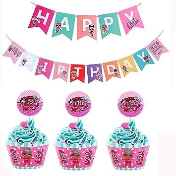 LOL decoraciones de fiesta de cumpleaños | LOL decoraciones ...