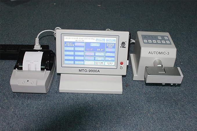 MTG-9900A Cronógrafo multifunción reloj mecánico máquina de sincronización herramienta probador con impresora: Amazon.es: Relojes