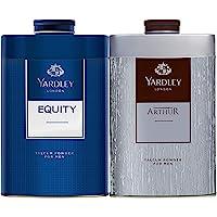 Yardley London Twin Talc Men- (2x250gm)Equity + Arthur