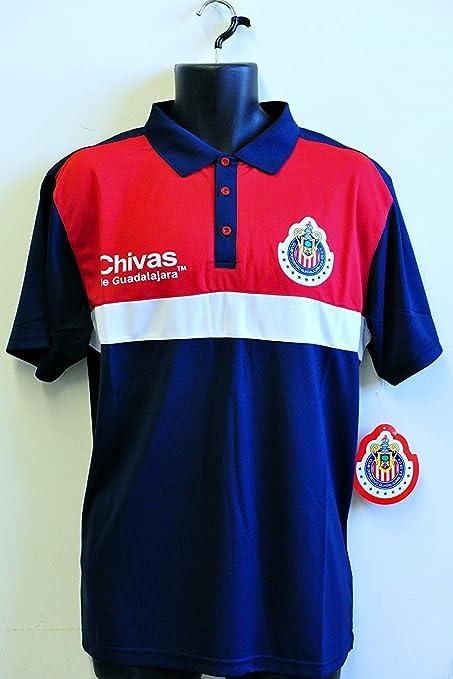 Amazon.com: Chivas de Guadalajara Logo del equipo Polo ...