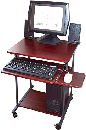 """Amazon.com : 24"""" Narrow Mini Compact Computer Desk CUZZI STS5806"""