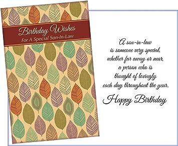 Amazon.com: Prime Greetings Happy Birthday Son-In-Law ...
