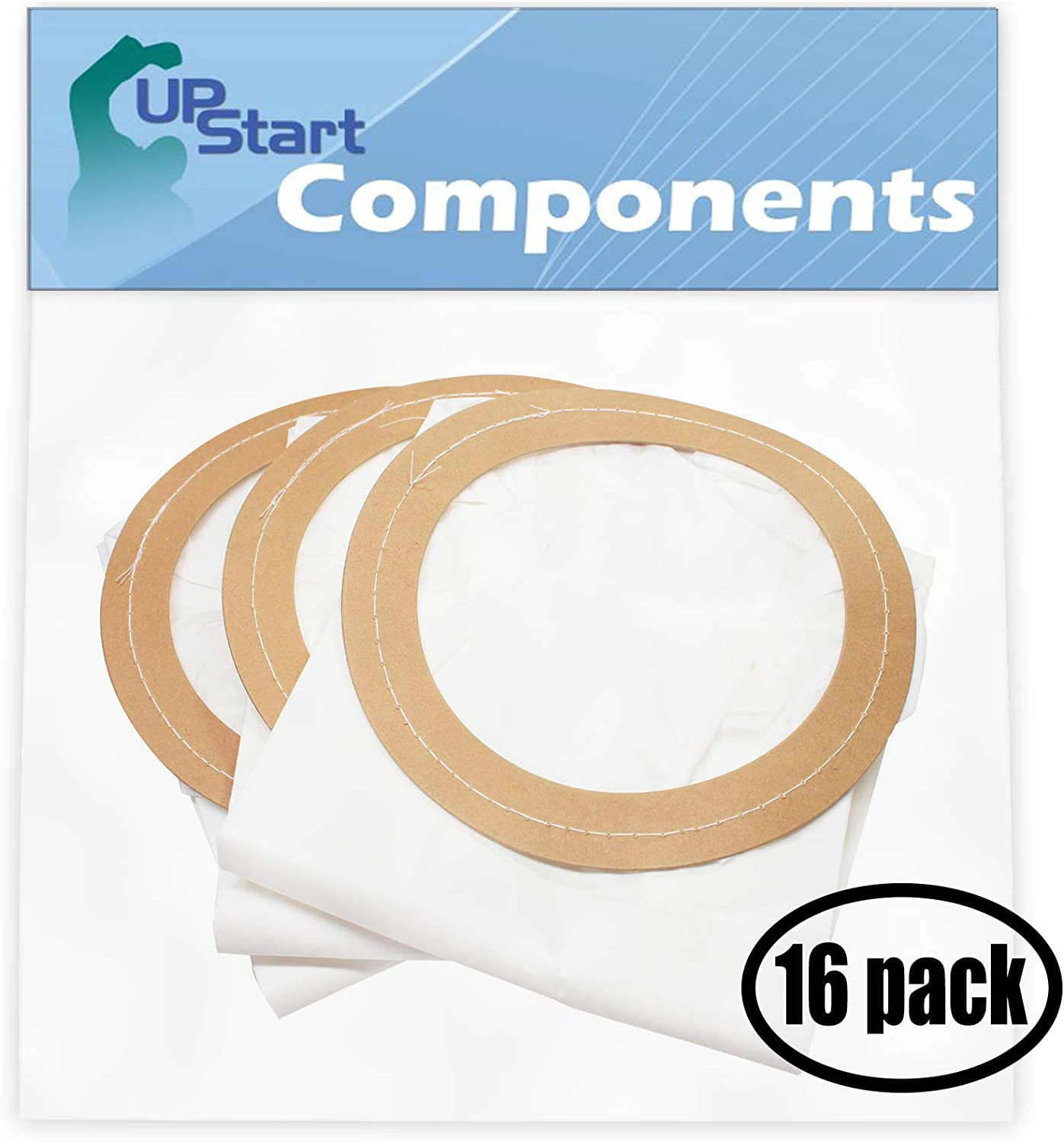 48 Replacement 10 Quart Backpack Vacuum Bags 100331 with 1 Micro Vacuum Attachment Kit for ProTeam - Compatible with ProTeam Super CoachVac, ProTeam 100331, ProTeam MegaVac, ProTeam CoachVac, ProTeam Super CoachVac HEPA, ProTeam Linevacer, ProTeam LineVacer, Perfect PB1001, ProTeam 10 Quart, ProTeam Aggressor II