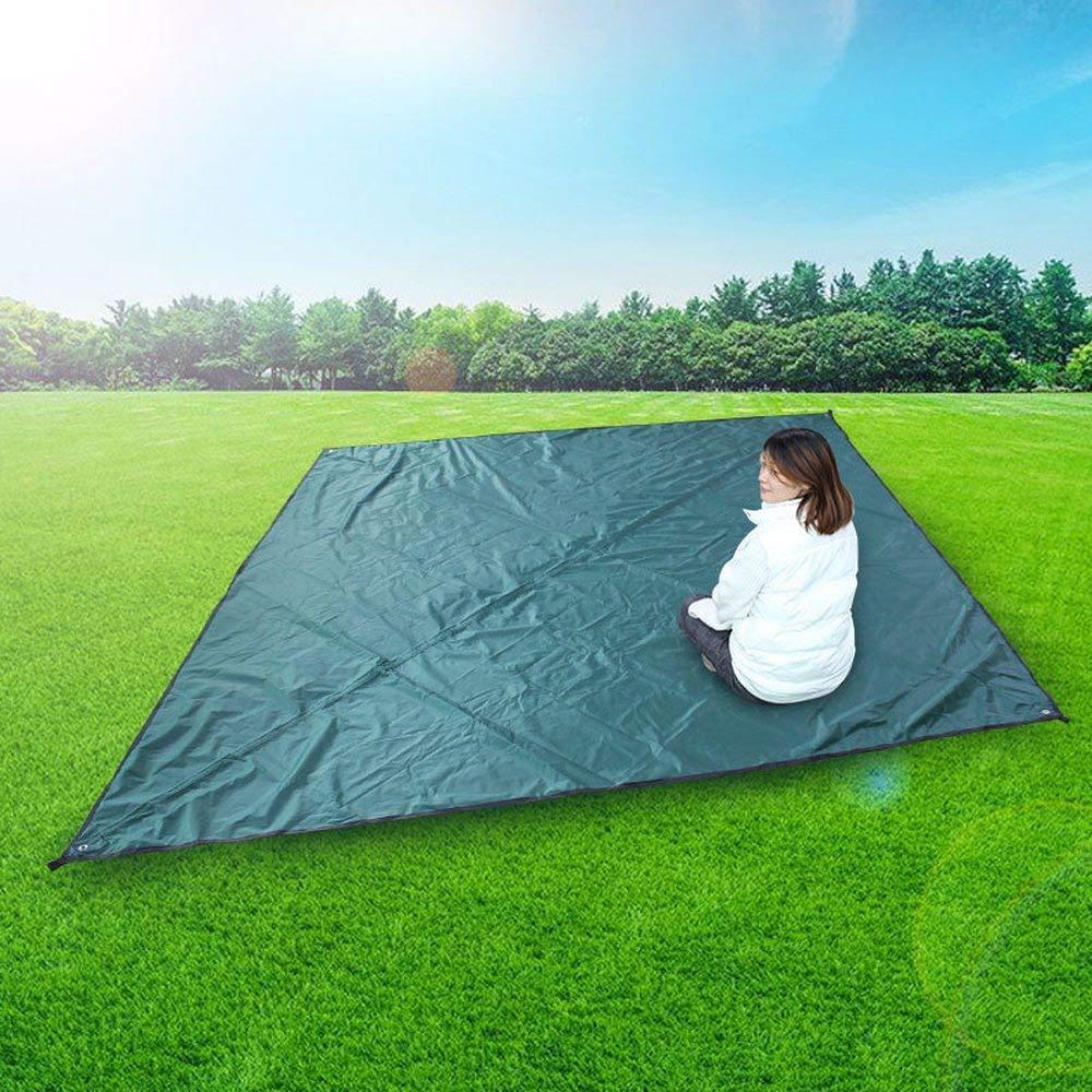 Anti-Snow Tent Tarps Rain Fly Hammock Tarp Cover Tent Shelter Tarpaulin Rainproof Windproof Anti-UV for Camping Hiking Outdoor Travel