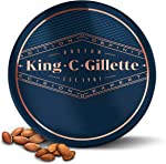 King C. Gillette Soft Beard Balm, Deep Conditioning with Cocoa Butter,