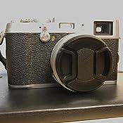 Amazon Com Jjc Lh Jx100ii Black Upgrade Lens Hood Shade