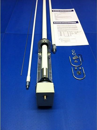 Sigma Europe SE HF-360 - Antena vertical sin radio (fibra de vidrio, 80 a 10 m)