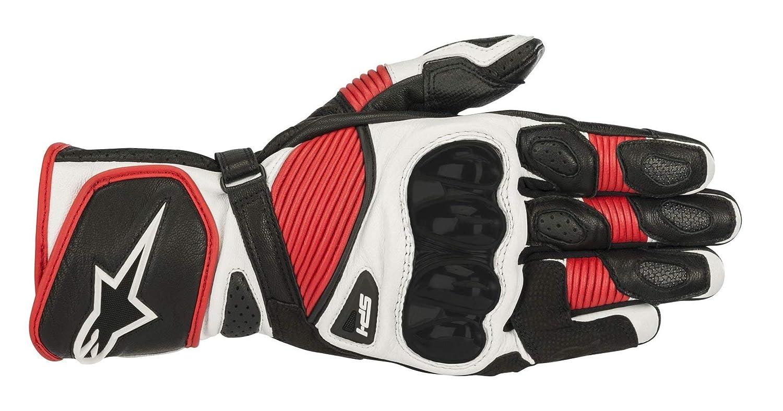 colore: Nero//Bianco//Rosso misura XXL Alpinestars Sp-1 V2 Guanti da moto