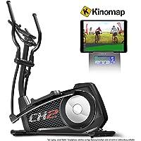 Sportstech CX2 Crosstrainer mit Smartphone App & integriertem Stromgenerator-Ellipsentrainer inkl. Bluetooth Konsole und Tablet-Halterung-Ergometer mit 27 Kg Schwungmasse (CX2)