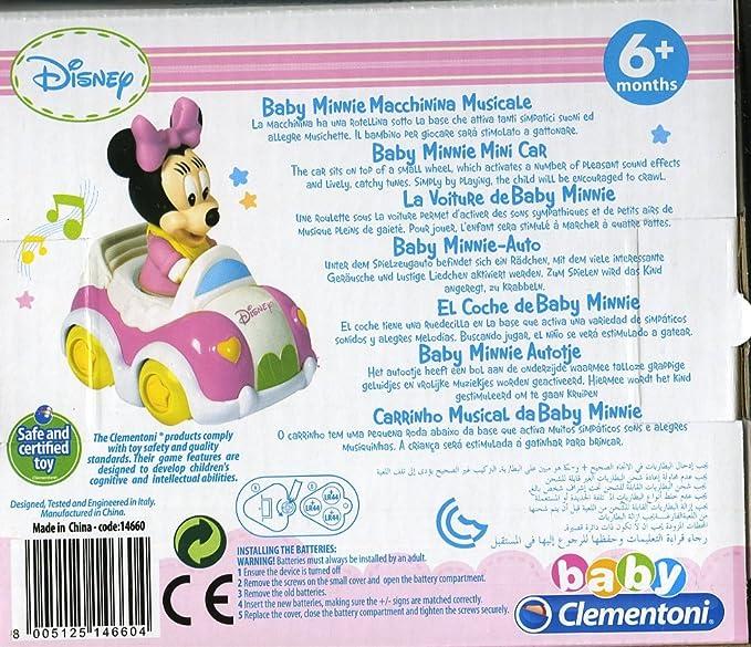 Clementoni - Coche con Sonido (14660.4): Amazon.es: Juguetes y juegos