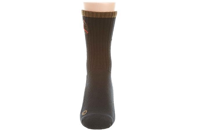 Jordan Jordania AJIX tripulación calcetines de Retro estilo # 507960 para hombre, Medium, Negro