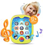 """Boxiki kids Smart Pad Babies Children Learning Educational Toddler Tablet Toy Infants Kids' Learning Games. Learn Numbers, ABC Learning, """"Can You Find?"""" Game, Music"""