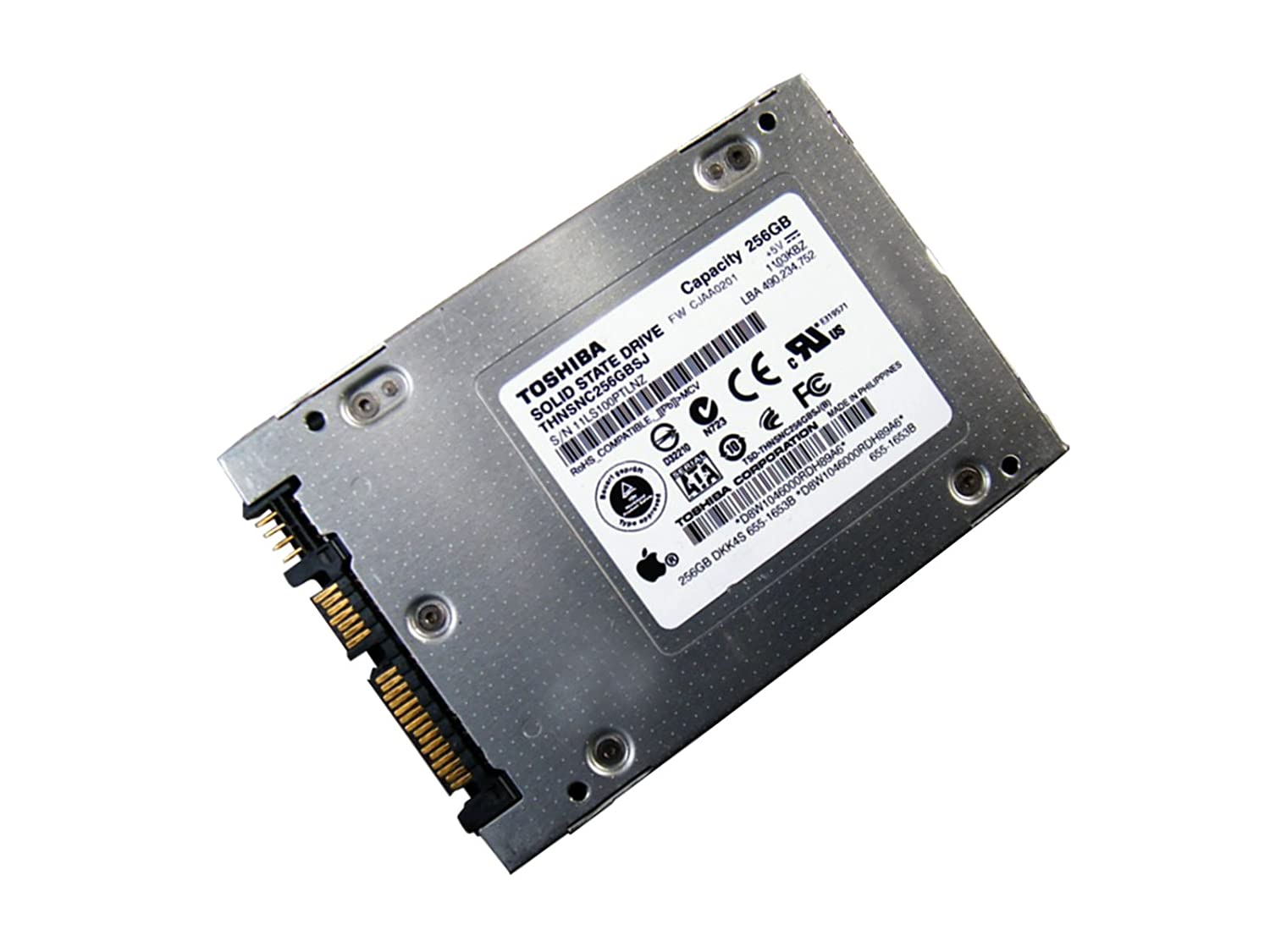 Toshiba Thnsnc256Gbsj 9,5 mm 2,5 Sata 256 GB Disco Duro SSD 3,0 GB ...