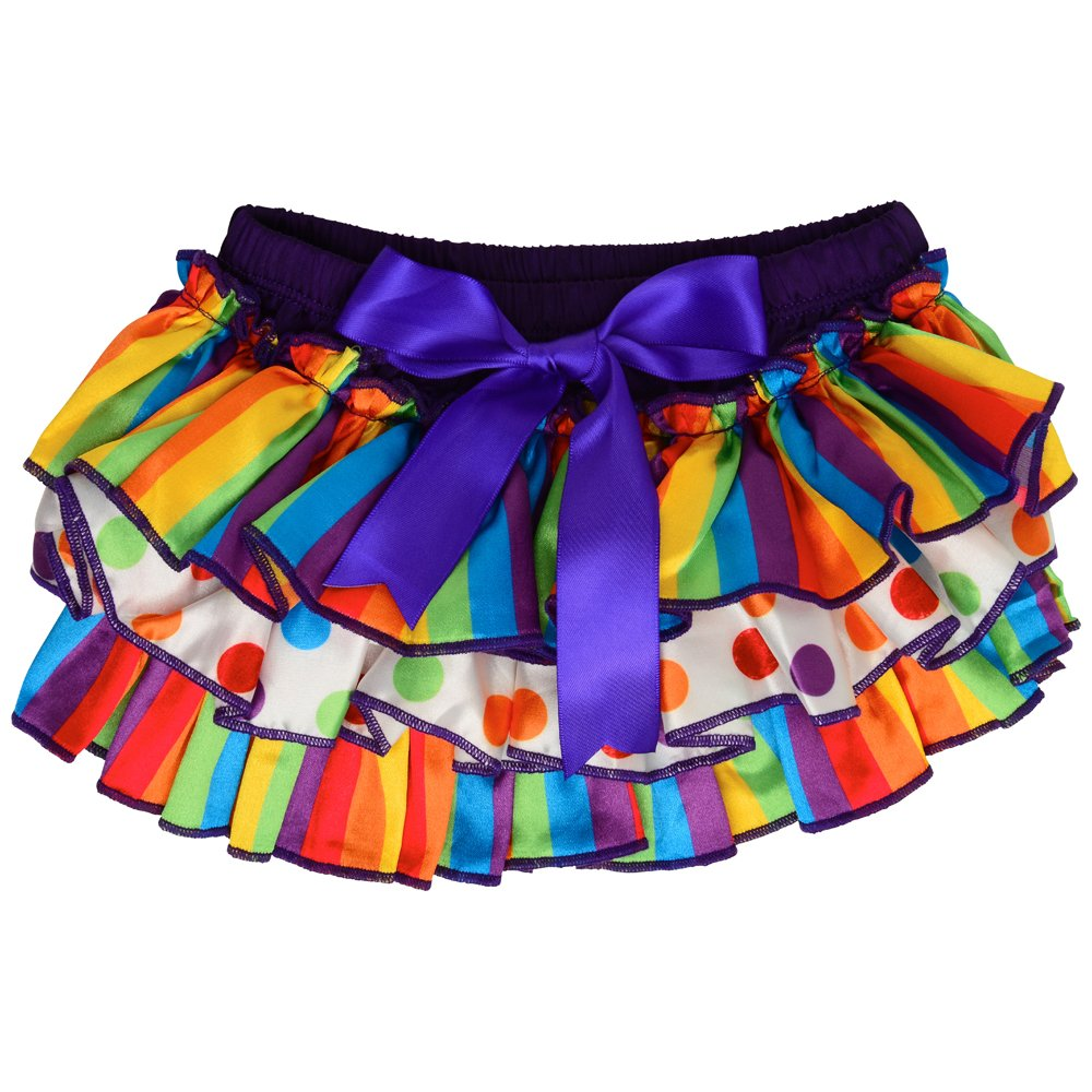 juDanzy Satin baby ruffle bloomers Diaper Covers in a Variety of colors & sizes