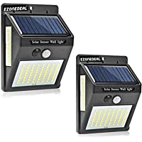 Ezonedeal Solar Lights, Outdoor Waterproof 100 LED Wireless Solar Motion Sensor Light for Patio Porch Path Yard Garden…