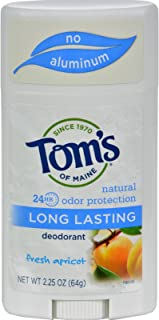 product image for Tom's of Maine Natural Deodorant Stick, Aluminum Free, Long Lasting, Fresh Apricot, 2.25 Ounce