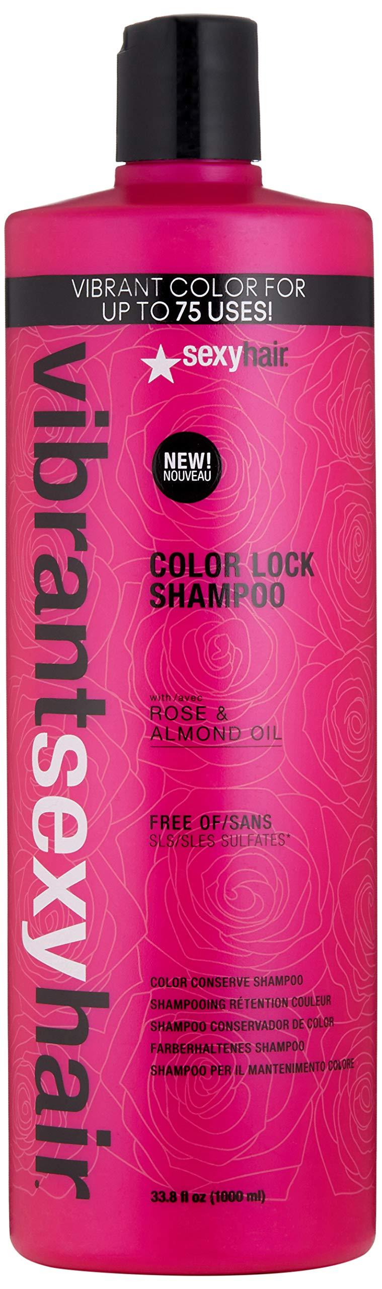 SEXYHAIR Vibrant Color Lock Shampoo, 33.8 fl. oz. by SEXYHAIR