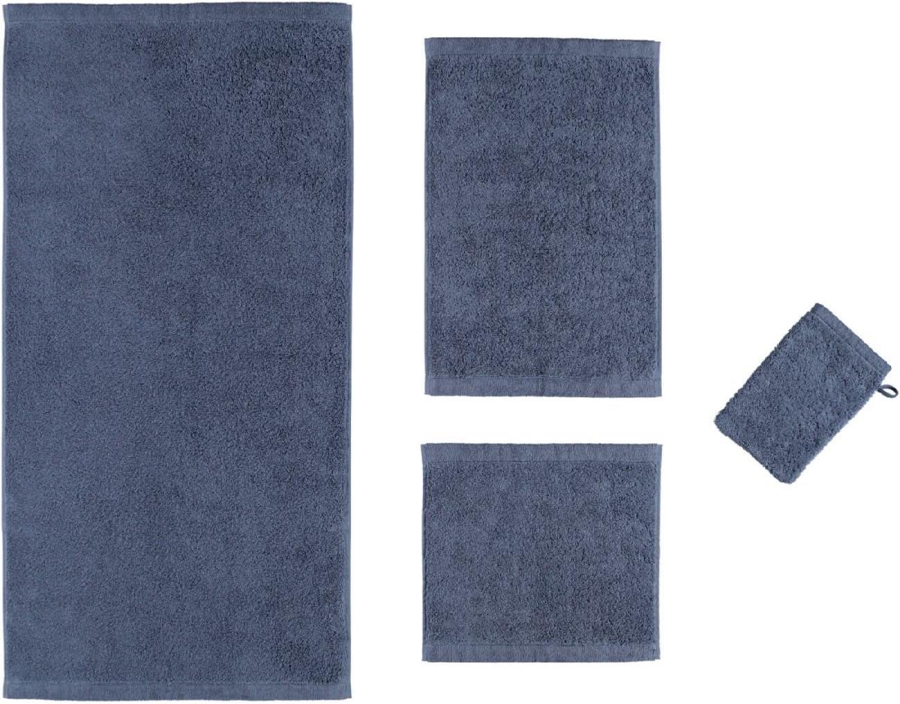 Caw/ö 70 x 140 cm blu notte codice articolo 7007 Cotone asciugamano Life Style Uni