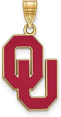 free shipping ncaa jewelry university jewelry Oklahoma Sooners Necklace